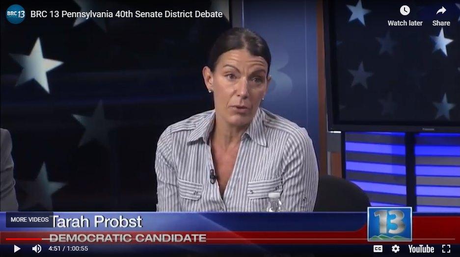 PA Senate District 40 Debate 2018 – Blue Ridge Cable TV 13