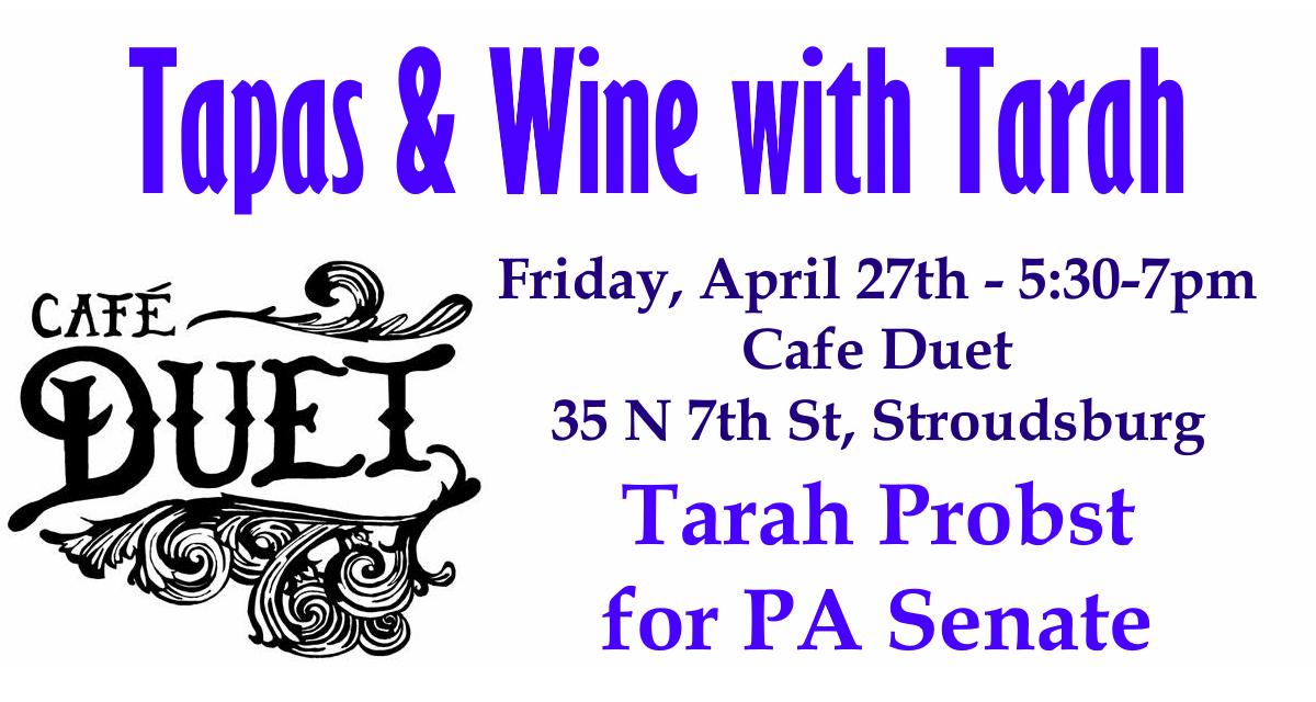Tarah Probst Fundraiser - Cafe Duet