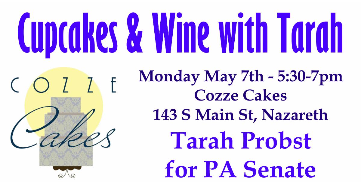 Tarah Probst Fundraiser - Cozze Cakes