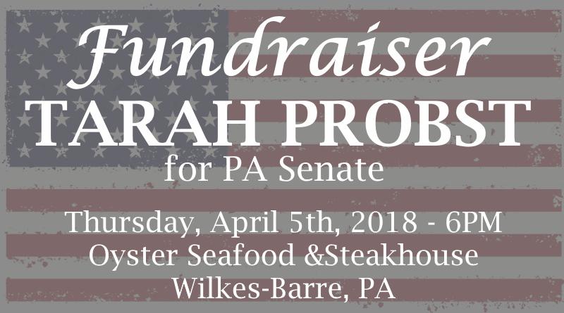 Tarah Probst Fundraiser Invitation