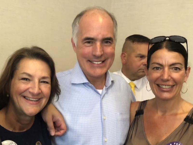 Tarah with Senator Casey and Rep Madden